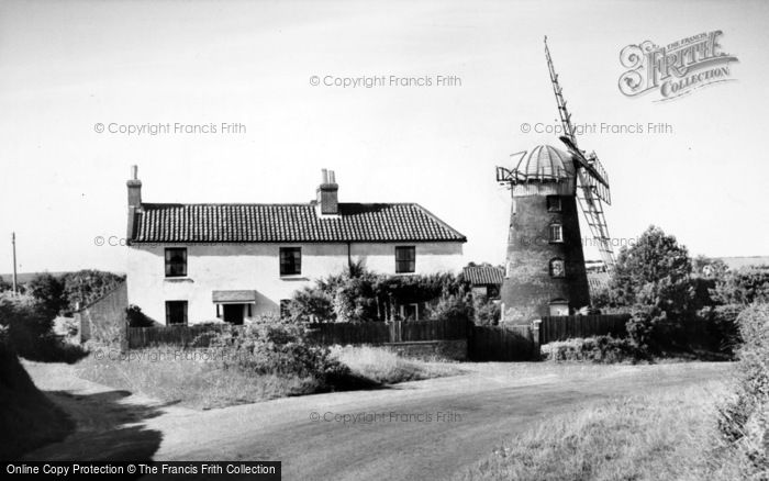 Photo of Mundesley, The Windmill c.1960