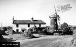 Mundesley, the Windmill c1960