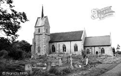 Mundford, St Leonard's Church c.1960