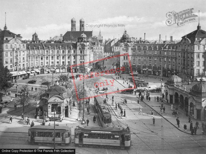 Photo of Munich, Karlsplatz c.1935