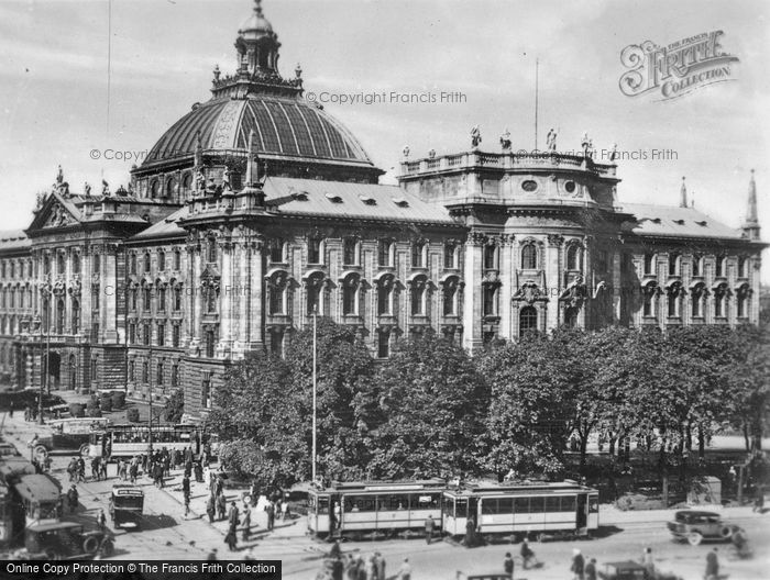 Photo of Munich, Palace Of Justice c.1935