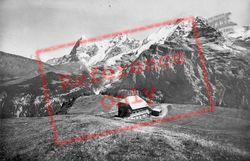 Allmendhubel, Eiger, Monch And Jungfrau c.1935, Murren