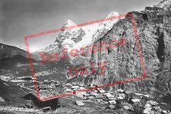 Eiger And Monch c.1930, Murren