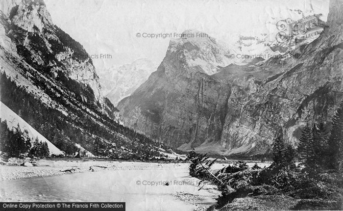Photo of Murren, Gasteran Thal And  The Schilthorn c.1874