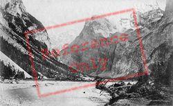 Gasteran Thal And  The Schilthorn c.1874, Murren