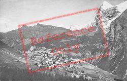 Mannlichen, Wetterhorn And Eiger c.1935, Murren