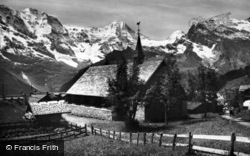 The English Church c.1930, Murren