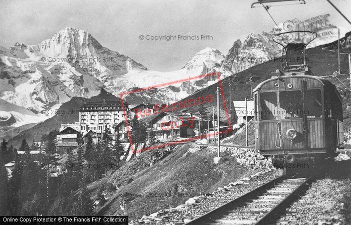 Photo of Murren, The Railway c.1935