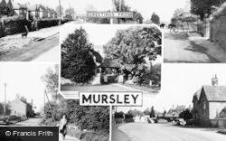 Mursley, Composite c.1955
