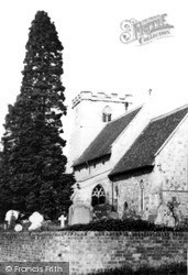 Mursley, St Mary The Virgin Church c.1955