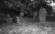 Murthly, Stone Circle 1957