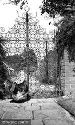 Ashe House, The Italian Gate c.1960, Musbury