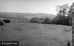 Castle, Iron Age Hill Fort 1958 , Musbury