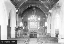 Musbury, Church Interior 1902