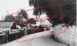 Church Road c.1965, Musbury