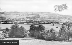 Musbury, General View c.1955