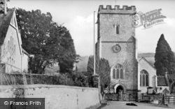 St Michael's Church And School c.1960, Musbury