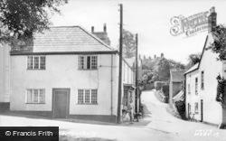 Musbury, The Post Office c.1955