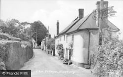 Musbury, The Village c.1955