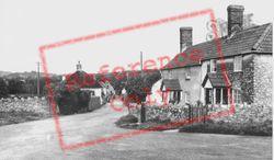 Whitford Road c.1955, Musbury