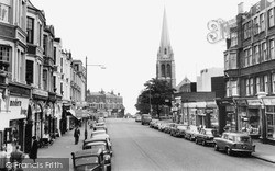Muswell Hill, Fortis Green Road c.1965