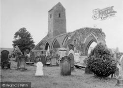 The Old Church c.1950, Muthill