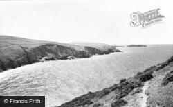 Mwnt, Cardigan Island c.1965