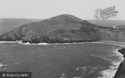 Mwnt, Foel Y Mwnt And Beach c.1950