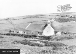 Mwnt, Holy Cross Church c.1965