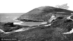Mwnt, The Beach And Headland c.1965