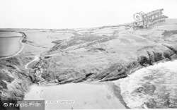 Mwnt, The Beach c.1965