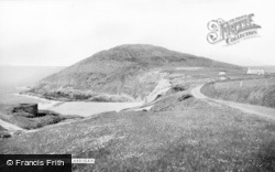 Mwnt, The Headland c.1965