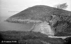 Mwnt, The Mount And Cardigan Coast c.1950