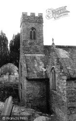 Mylor, St Mylor Church c.1960