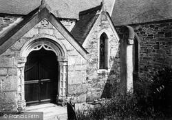 Mylor, St Mylor Church,  West Porch 1890