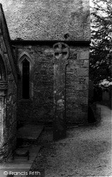 Mylor, The Ancient Cross c.1960