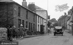 Mylor, Traffic In The Village 1930