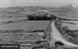 The View From Jampot Hill c.1955, Mynytho