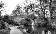 Mytchett, The Canal Bridge c.1955
