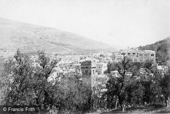 Nablus, the Ancient Shechem c1867