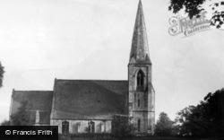 Naburn, St Matthew's Church c.1955