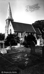 Naburn, St Matthew's Church c.1960