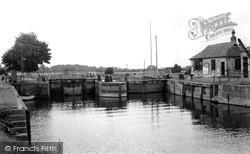 Naburn, The Locks c.1955