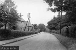 Naburn, The Main Road c.1955