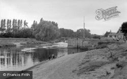 The River Ouse c.1955, Naburn