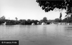 Naburn, The River Ouse c.1960