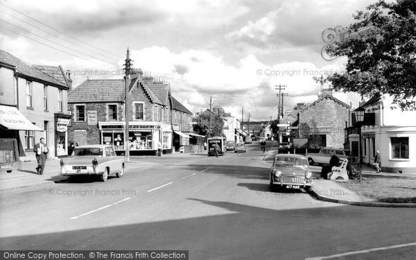 Nailsea, High Street c1965