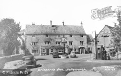 Nailsworth, Britannia Inn c.1960