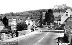 Nailsworth, From Bath Road c.1965