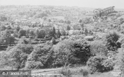 Nailsworth, The View From The 'w' c.1955